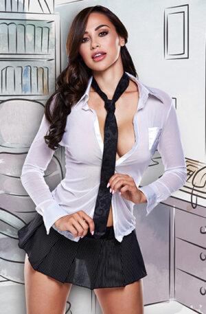 Baci Lingerie Sexy CEO Set - Sexig Sekreterare Kostym 1