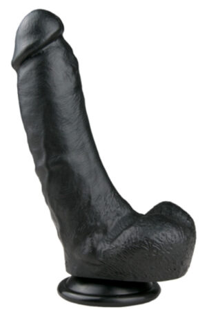 Easytoys Realistic Dildo Black 20cm - Dildo 1