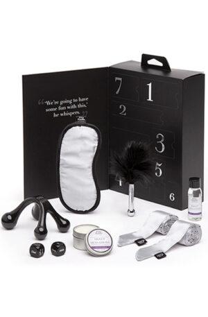 Fifty Shades of Grey Sweet Sensations 7 pcs Kit - Paket för par 1