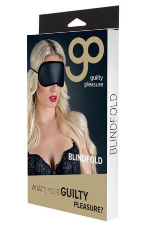 Guilty Pleasure Blindfold Black - Ögonbindel 1