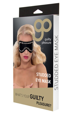 Guilty Pleasure Studded Eye Mask - Ögonbindel 1