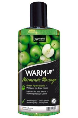 Joydivision Warm-up Massage Oil Green Apple 150ml - Massageolja Äpple 1