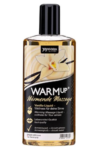 Joydivision Warm-up Massage Oil Vanilla 150ml - Massageolja Vanilj 1