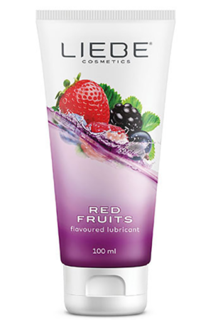 Liebe Lubricant Red Fruits - Glidmedel med smak 1