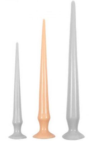 Long Dildo Tail Flex Flesh 43 cm - Extra lång analdildo 1