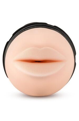 M For Men The Torch Luscious Lips Vanilla - Masturbator oral 1