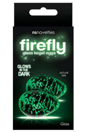 NS Novelties Firefly Glass Kegel Eggs - Kegel Eggs 1