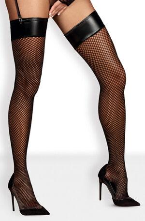 Obsessive Darkie Stockings Black - Stay-ups 1