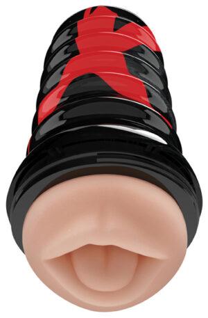 Pipedream PDX Elite Air-Tight Oral Stroker - Lösmun 1