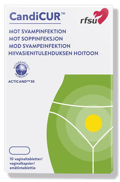 RFSU Candicur 10st - Svampinfektion 1