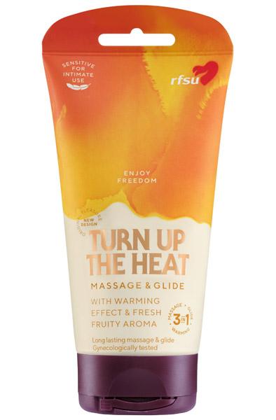 RFSU Sense Me 3in1 Turn Up The Heat 150ml - Glidmedel & Massagelotion 1