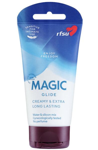 RFSU Sense Me Magic Glide 75ml - Vatten-/silikonbaserat glidmedel 1