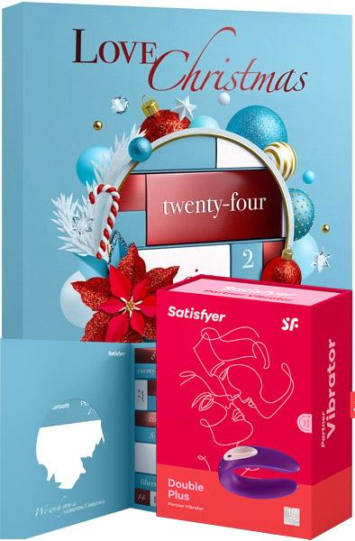 Satisfyer Advent Calendar + Double Plus - Adventskalender sexleksaker 1