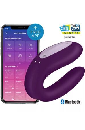Satisfyer Double Joy Purple - Appstyrd parvibrator 1