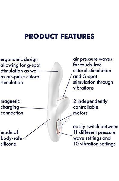 Satisfyer Pro G-Spot Rabbit - G-punktsvibrator 2