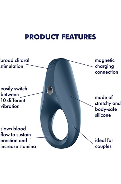 Satisfyer Rocket Ring Vibration - Penisring med vibrator 2