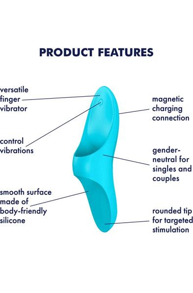 Satisfyer Teaser Light Blue - Vibrator 2