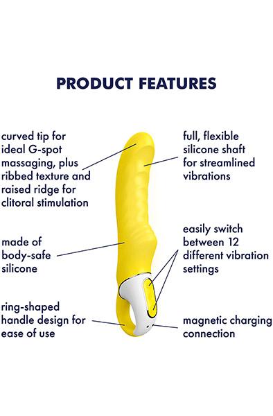 Satisfyer Yummy Sunshine Vibrator - G-punktsvibrator 2