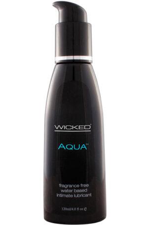 Wicked Aqua 120 ml - Vattenbaserat glidmedel 1