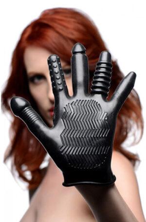 XR Play Hard Pleasure Poker Anal Glove - Analstimulering handske 1